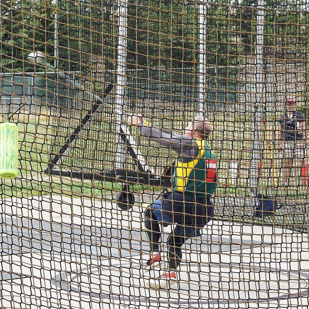 Steve Adelman impressed in the throwing events at the 2018 USATF National Masters Track & Field Championships, earning national titles in the men's 50-54 hammer throw and weight throw.