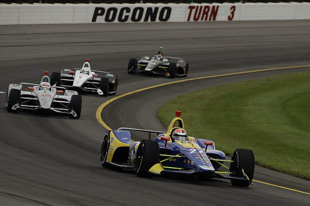 Alexander Rossi Has Been Impressive In The Final Quarter Of Season Winning Honda Indy 200 At Mid Ohio And Abc Supply 500 Placing Second