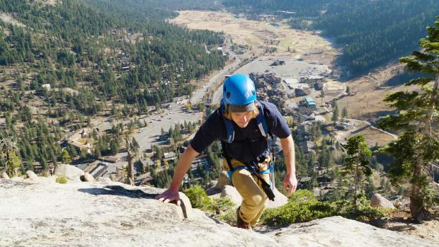 The Lake Tahoe area's first Via Ferrata climbing route will open Monday, Oct. 1 at Squaw Valley.