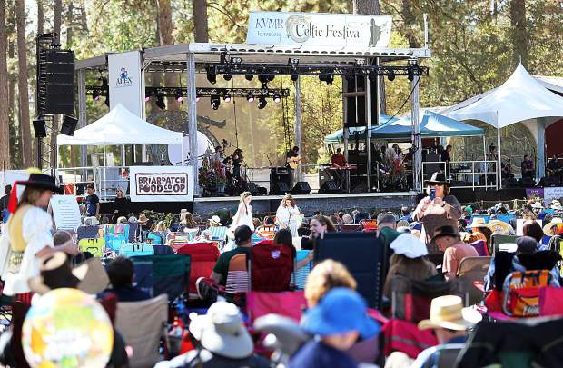 The main stage at the Celtic Fair was full of big name talent while other stages around the fairgrounds featured community performances and the ability for public participation.