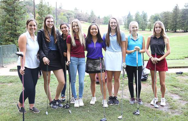 Bear River's golf team has swept through league play, going 8-0 in head-to-head matches and winning the first Pioneer Valley League Tournament in September. The Lady Bruins will look to close out a perfect run through league play at the final PVL tournament set for Monday at Diamond Oaks Golf Course.