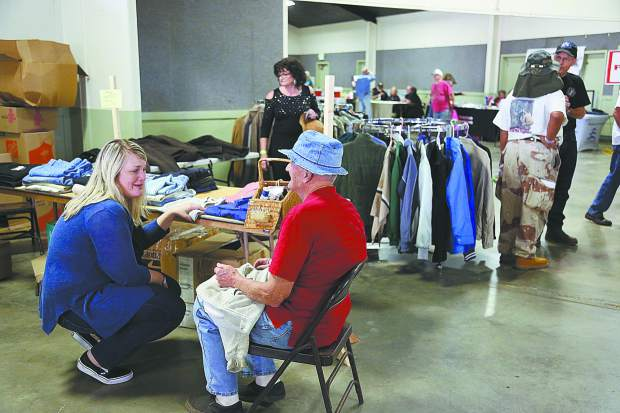 Over 300 local veterans participated in the All Veterans Stand Down at the Nevada County Fairgrounds over the two day run Friday and Saturday. The annual event continues to gain participation from both vendors and veterans.
