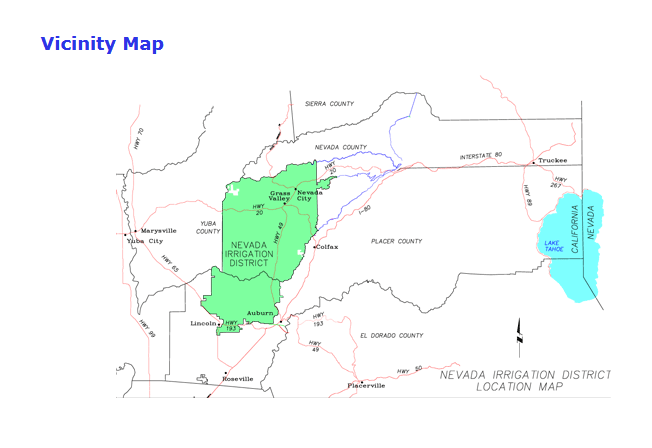 NID's operating area, which the Plan for Water will address the water use for.