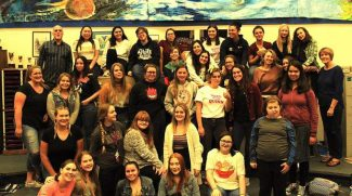 Nevada Union High School Choir performs at second annual Supper of Song
