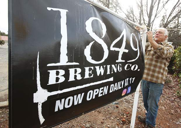 1849 co-owner David Krikorian is fulfilling a dream by opening his own brewery, which is now open for business located at 468 Sutton Way in Grass Valley.