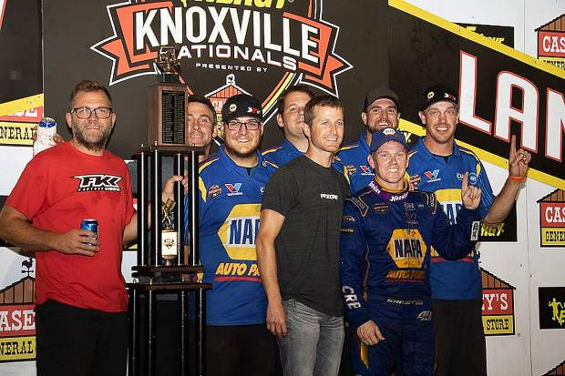 Brad Sweet became just the 25th driver to win the Knoxville Nationals since it began in 1961.