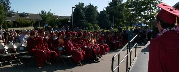 Ghidotti Early College students graduate back in 2013. This year, Ghidotti led the state in California Assessment for Student Performance and Progress test scores.