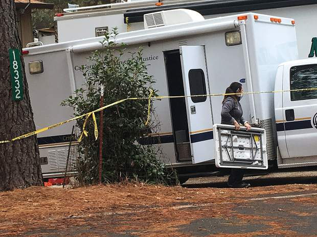 Nevada County authorities said they anticipated leaving the Lawrence Way home by this morning.