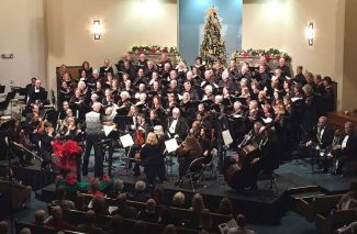 'Caroling, Caroling': Ken Hardin conducts Sierra Master Chorale one last time in holiday celebration