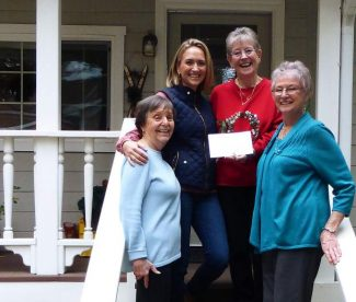 Norah Foundation receives a boost from Grass Valley Rifle, Rod & Gun Club Ladies Auxiliary