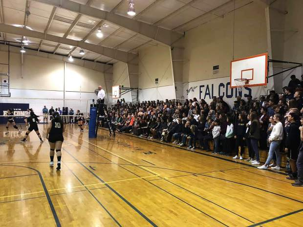 It was standing-room only at Forest Lake Christian Saturday night as people packed the gym to support Paradise Adventist Academy.