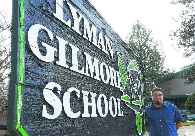 Photo by John Hart Patrick Brose is the new principal of Lyman Gilmore School, Gilmore Way, Grass Valley.