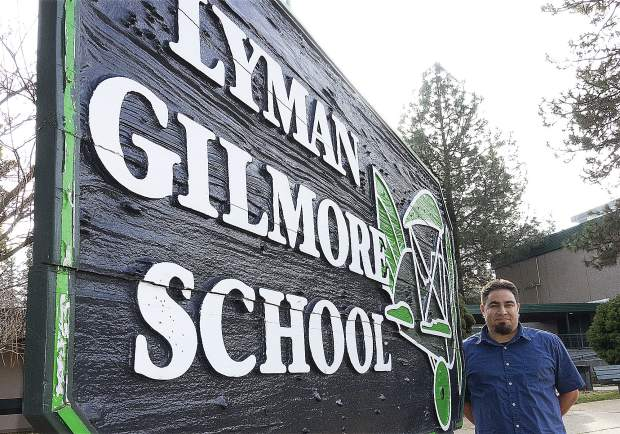 Patrick Brose is the new principal of Lyman Gilmore School in Grass Valley.