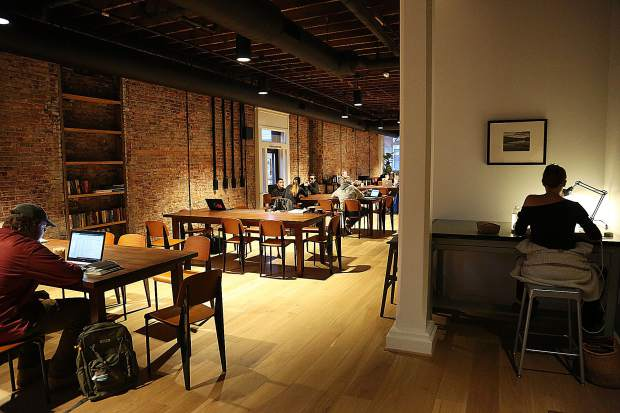 City Council offers a lot of warm space to mingle in or get some laptop work done while enjoying a latte.