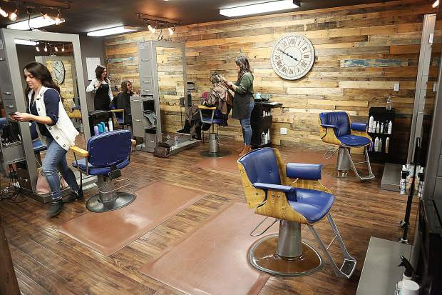 Salon workers are independent contractors who rent their space from Cranston and schedule their own appointments.