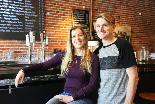 Teresa and Ryan Thomas are the couple behind downtown Grass Valley's Pour House, now open on Main Street across from the Holbrooke.