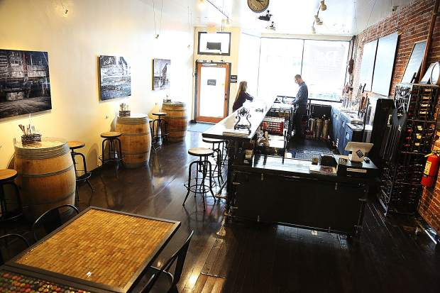 The space at 217 West Main Street in Grass Valley has been transformed into the Pour House, serving spirits ranging from local beers to wine and specialty house cocktails.