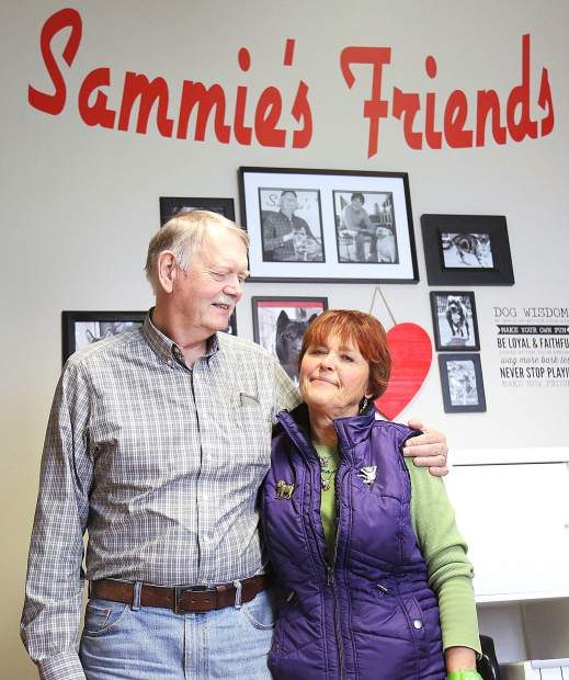 Sammie's Friends founders Curt Romander and Cheryl Wicks are stepping down from their roles as the day-to-day directors of the shelter.
