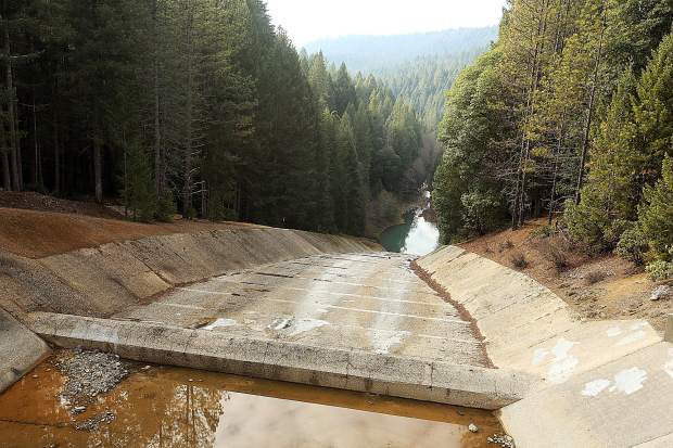 The Scotts Flat Dam spillway was one of those identified by the state as needing repairs, following the Oroville Dam spillway disaster that occurred in early 2017. NID has since made improvements to the spillway.