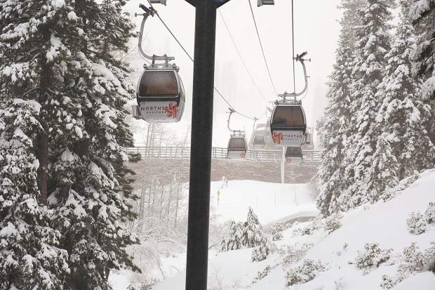 Northstar California reported 53 inches of snowfall during the past seven days.