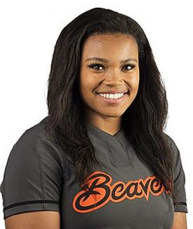 ALUMNI NOTEBOOK: Bear River grad Nerissa Eason tosses gem for Oregon State