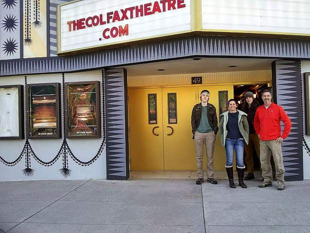 Gabe, Anna, Sloan and Adam Morton are the new owners of the Colfax Theatre.