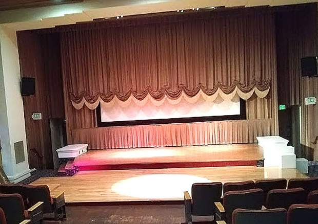 The stage curtain at the Colfax Theatre has been raised for many productions over the course of its 80 year history.