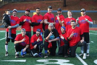 REC FLAG FOOTBALL: Tecmo rallies past Team Brooke for second straight NCASA championship (VIDEO/PHOTO GALLERY)