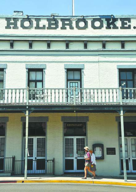 Grass Valley's Holbrooke Hotel will be closed for renovation starting Feb. 22.