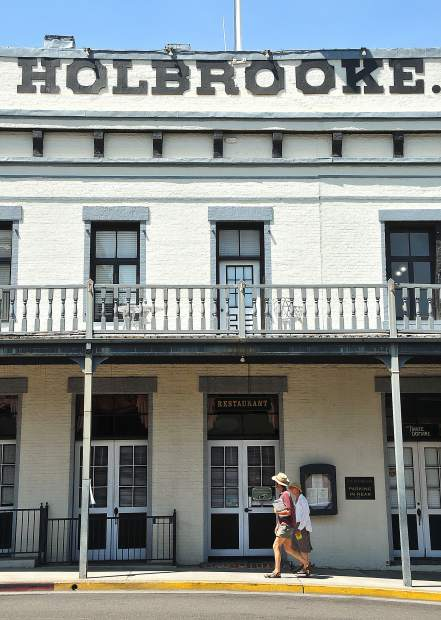 The sale of Grass Valley's Holbrooke Hotel is currently in escrow. Jordan Fife, who purchased the National Exchange Hotel in Nevada City, is the buyer of the historic hotel.