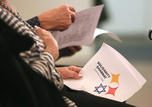Solidarity Shabbat's were held all over the country Friday night in honor of those killed and injured in last week's mass shooting at the Tree of Life Synagogue in Pittsburgh Penn.