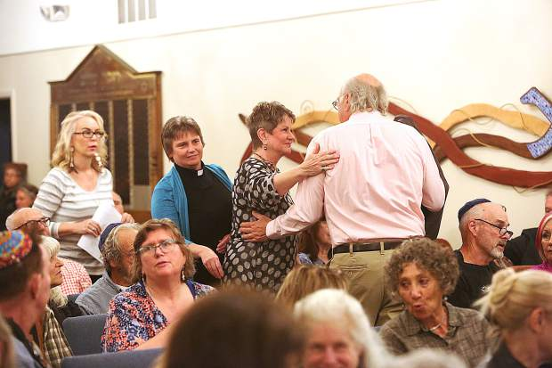 Members of all congregations were welcomed to Friday's