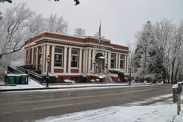 Grass Valley Library.
