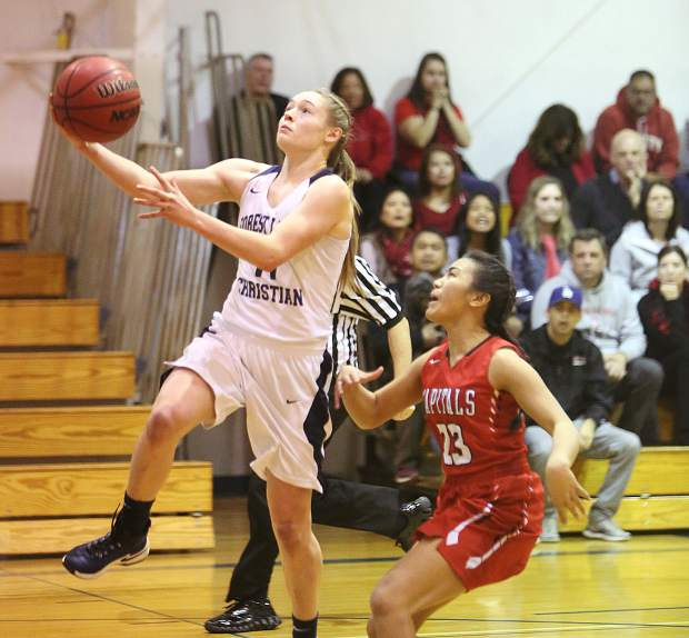 Forest Lake Christian's Amber Jackson was named the Central Valley California League MVP.