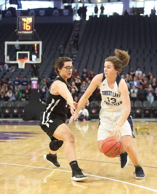 Forest Lake Christian junior Ali McDaniel (13) was named to the All-CVCL Second Team.