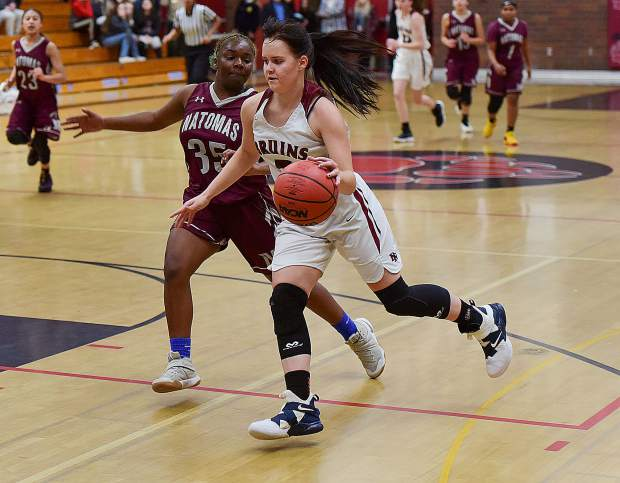 Bear River's Jordan Foster was named to the All-PVL First Team.