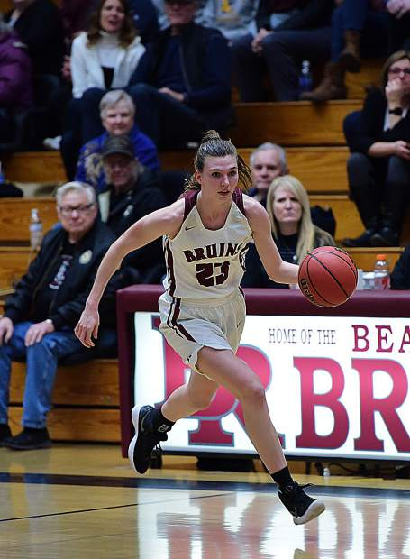 Bear River's Sarah Aanenson was named to the All-PVL First Team.