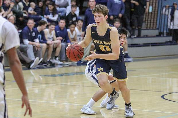 Nevada Union's Milo Goehring was named to the All-FVL First Team.