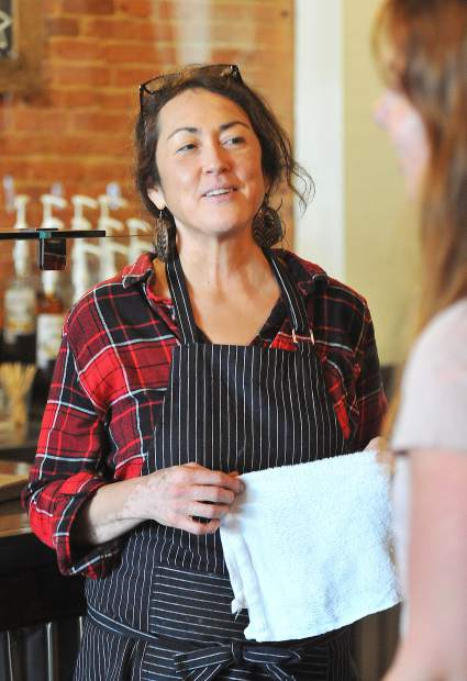 Nancy Solyan, who has worked at the Center for the Arts in Grass Valley, recently discovered she has cancer, prompting her to do some things she's been meaning to, like run her own coffee shop.