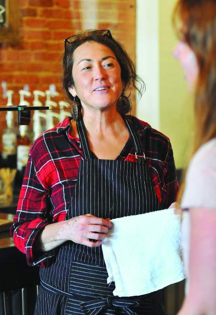Nancy Solyan, who has worked at the Center for the Arts in Grass Valley, recently discovered that she has cancer, prompting her to do some things that she's been meaning to, like run her own coffee shop.
