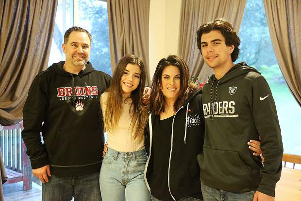 The Bucher family is Eager to give back, the Buchers -- from left, Jake, Emily, Traci and Chad -- -- are helping to raise funds and spread the word about remarkable treatment Emily received at Shriners Hospital for Children in Sacramento.