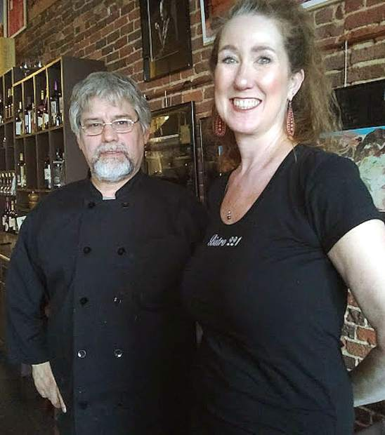 Bobby McKnight (left) and Melissa Bryant of Nevada City's 221 Bistro will be cooking up something special for The Hungry Games event Sunday.