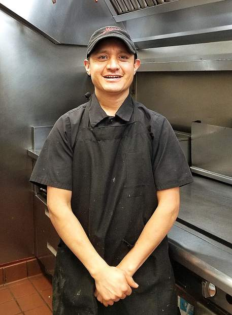 Chef Manuel Hernandez of Maria's Restaurant finds his passion in cooking. Maria's will be just one of many local eateries offering their wares at The Hungry Games.