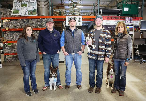 Katie Bielen, Alex Brose, John Marcus, Conner Olsen and Karen Henderson are the people behind LiveWire Products Inc. electric and standard fence suppliers out of Penn Valley.