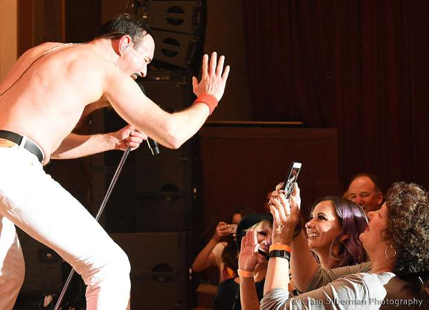 One night of Queen at the Grass Valley Vets Hall.