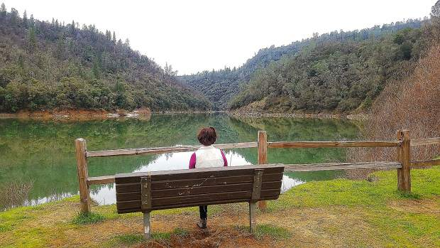 Point Defiance viewing Lake Engelbright at South Yuba River State Park.