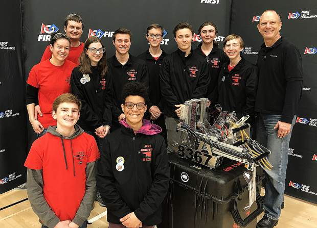 Competing in the NorCal Championships March 3 in San Jose, ACME Robotics wins one of 8 slots heading to the World Championships in Houston! Way to go ACME!