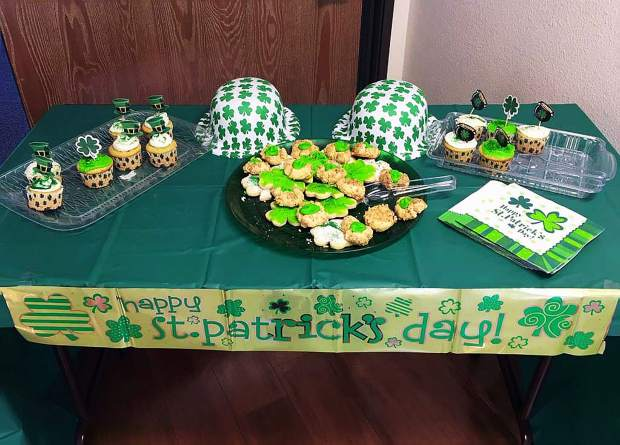 Cookies and Cupcakes at Grass Valley Senior Apartments.