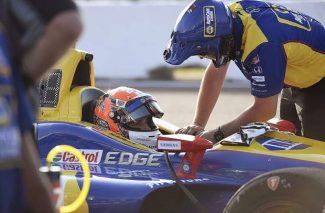 AUTO RACING: Rossi keeps it safe, brings home points