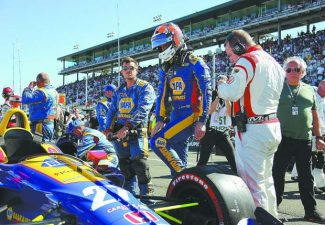 AUTO RACING: After finishing 2nd a year ago, Rossi is back in driver's seat for 2019 IndyCar season